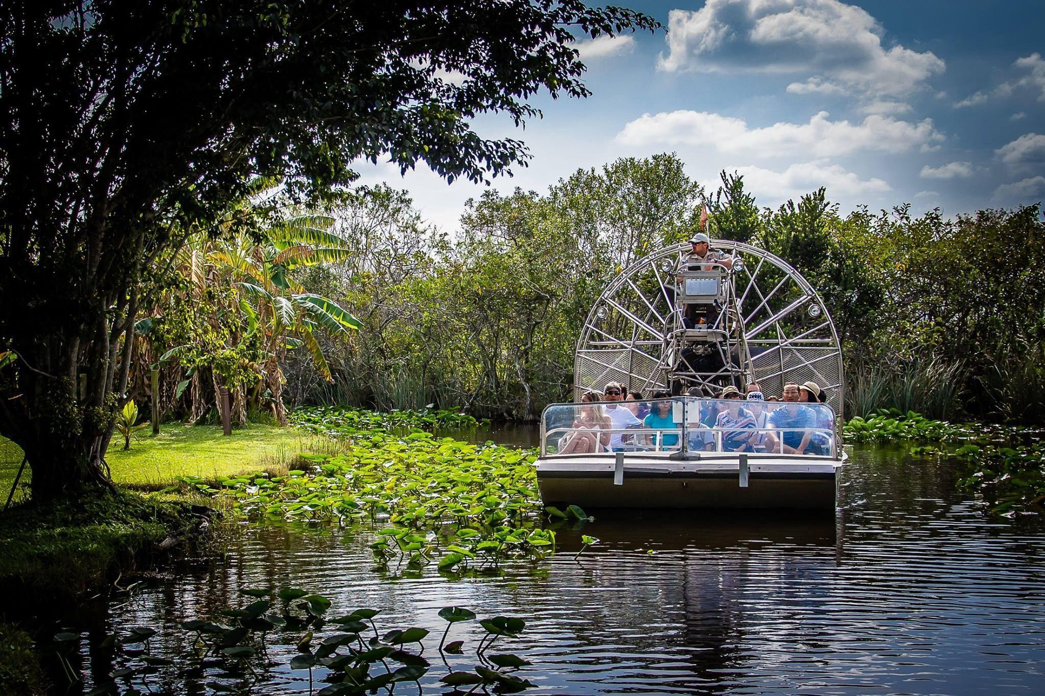 Wie wär's mit einer Fahrt durch den Everglades Safari Park