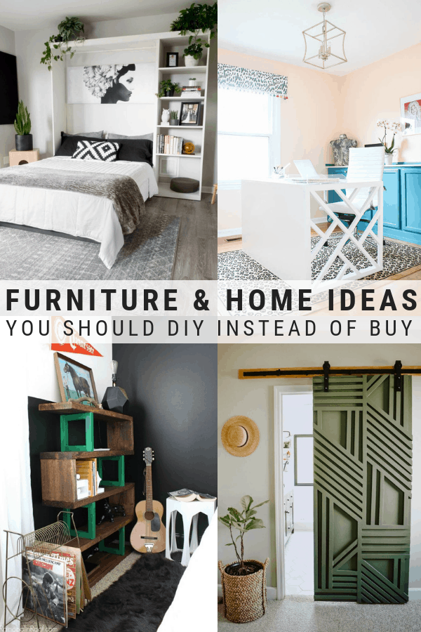 40 Cheap Diy Furniture Ideas That Actually Look Amazing Diy Furniture Cheap Home Diy Home Decor