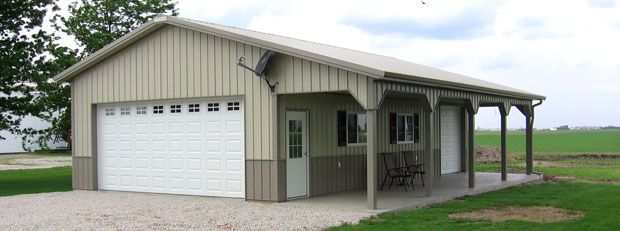 Metal buildings with living quarters advantages and for Shop buildings with living quarters