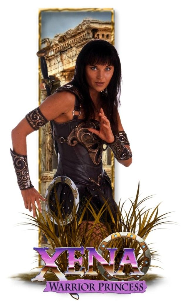 """""""Xena Warrior Princess"""" by girlinthebigbox on Polyvore featuring art, fantasy, TV and XenaWarriorPrincess"""
