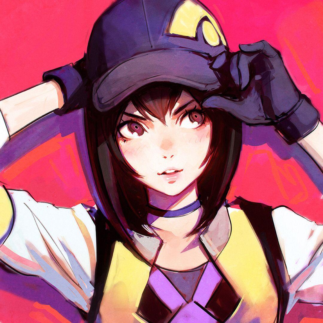 Artist KR0NPR1NZ Pokémon Go Female Protagonist