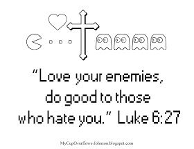 Love Your Enemies Bible Coloring Pages Love You Love Your Enemies