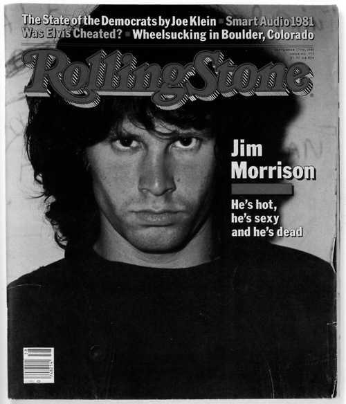 *Vintage Rolling Stone Covers   The doors jim morrison