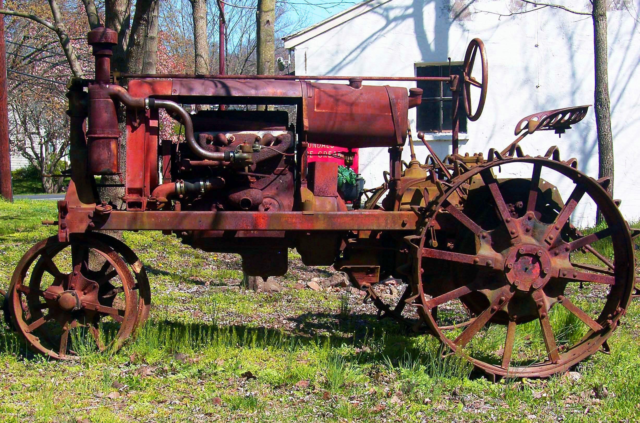 Antique Tractors Equipment : Old tractors google search industrial equipment