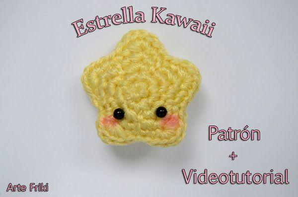 Amigurumi Kawaii Free : Estrella amigurumi patrón gratis amigurumi kawaii and crochet