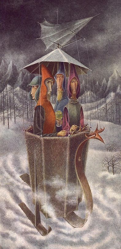 Expedition Aqua Aurea by Remedios Varo