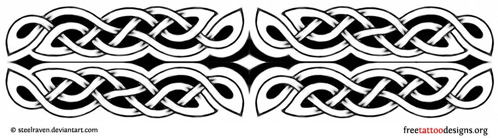 8420d23a90b8c Celtic armband tattoo design | Celtic design | Celtic band tattoo ...