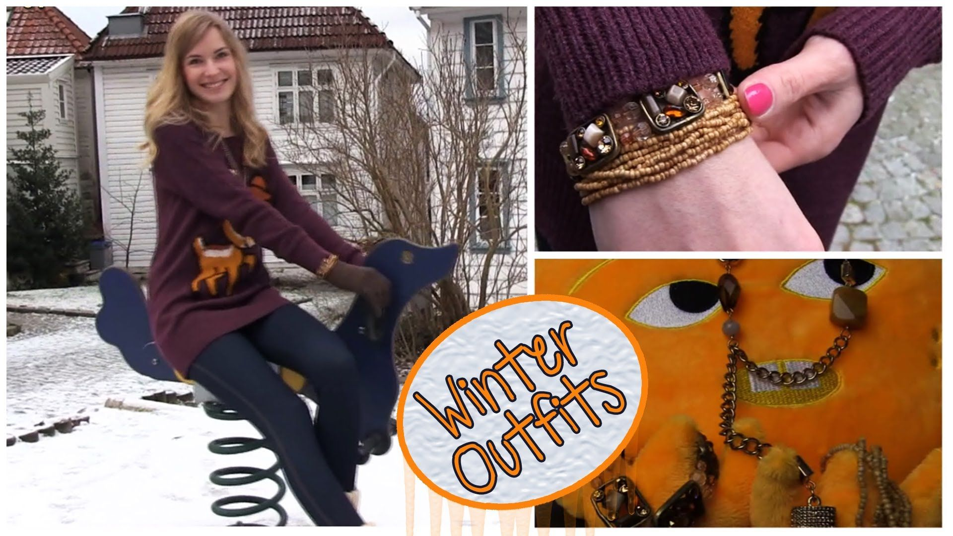 Fashion Video: More Winter Outfits.