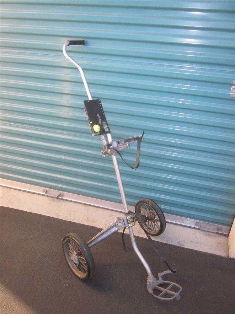 Bag boy play day push-pull golf cart jarman co/ browning