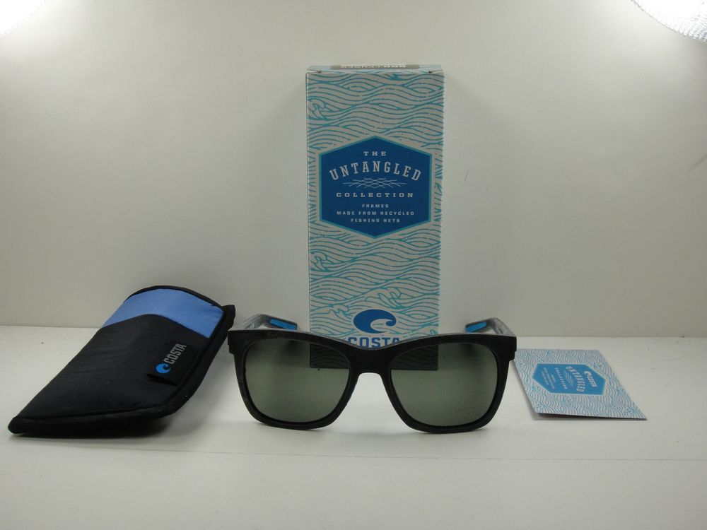 c5d37f437f COSTA DEL MAR POLARIZED UNTANGLED SUNGLASSES CALDERA UC3 00B OGGLP GRAY  GLASS (eBay Link)