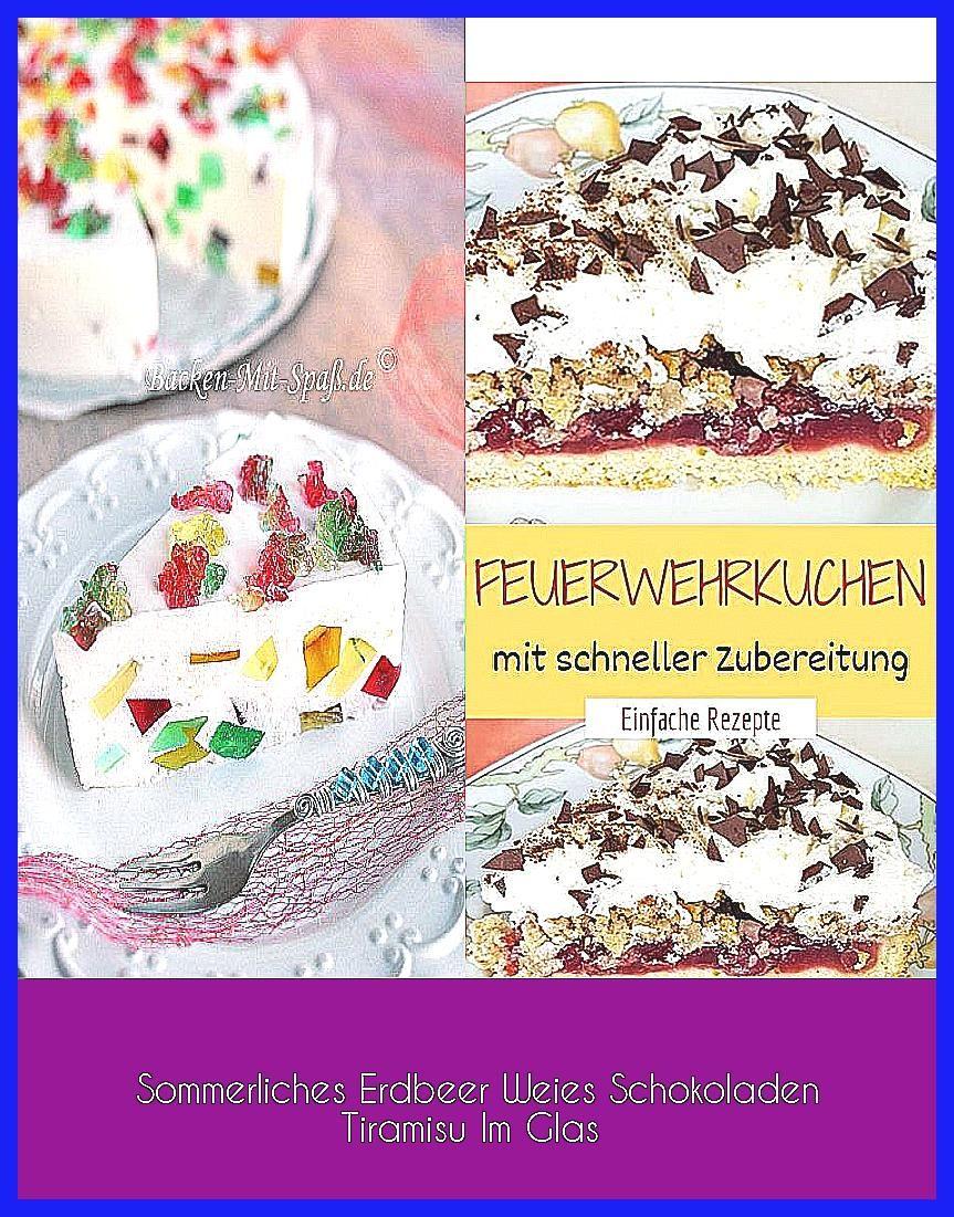 Photo of Sommerliches Erdbeer Weies Schokoladen Tiramisu Im Glas