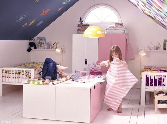 Chambre-d-enfant-comment-bien-amenager-une-chambre-pour-deuxjpg - Amenager Une Chambre D Enfant