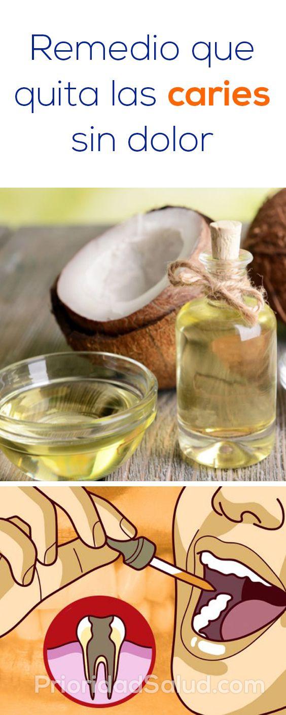 Remedio Para Eliminar Las Caries De Los Dientes Sin Dolor Body Healing Health Health Tips