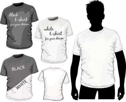 Download Fine Tshirt Template 01 Vector Tshirt Designs T Shirt Design Template Shirt Designs
