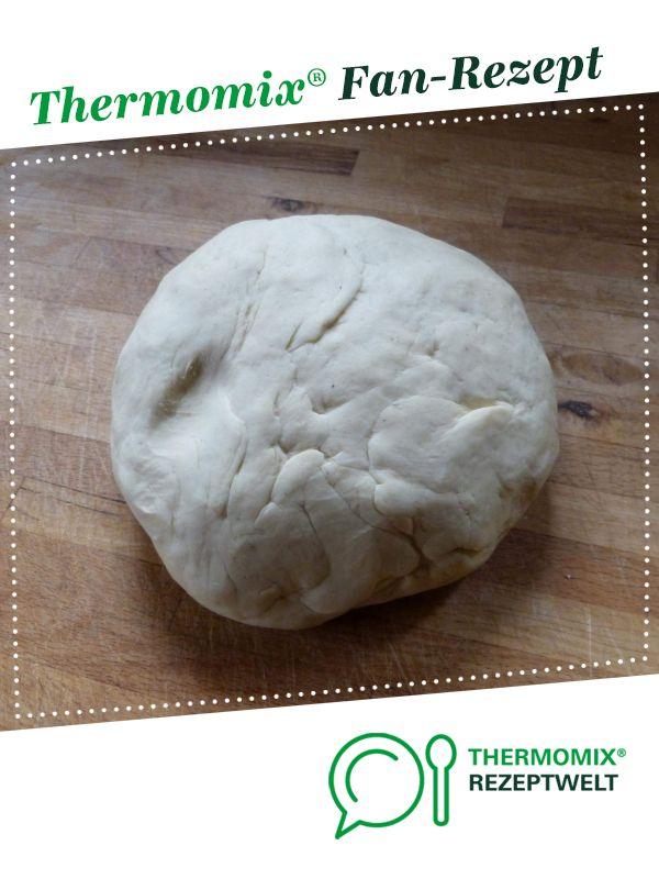 Pizzateig mit Trockenhefe easy #pizzateigmittrockenhefe