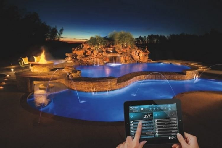 Outdoor Living Gadgets Swimming Pool Lights Swimming Pools