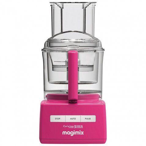 Magimix Cuisine Systeme 5200 XL Premium Fucsia - CONSEGNA GRATIS -