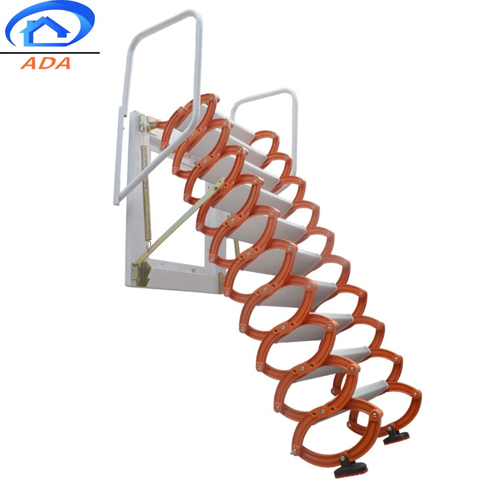 Fold Up Wall Mounted Stairs Stair Walls Loft Ladder Stairs