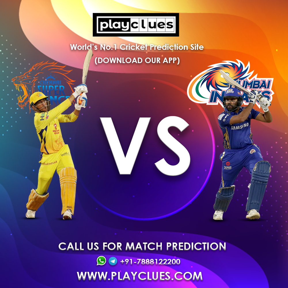 MI vs CSK on 26st Apr    Get best prediction of this match