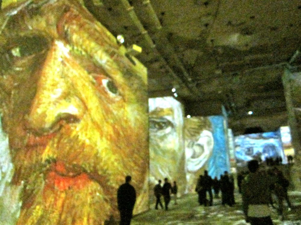 Vincent Van Gough At The Carrieres De Lumieres South Of France Viking Cruises Provence