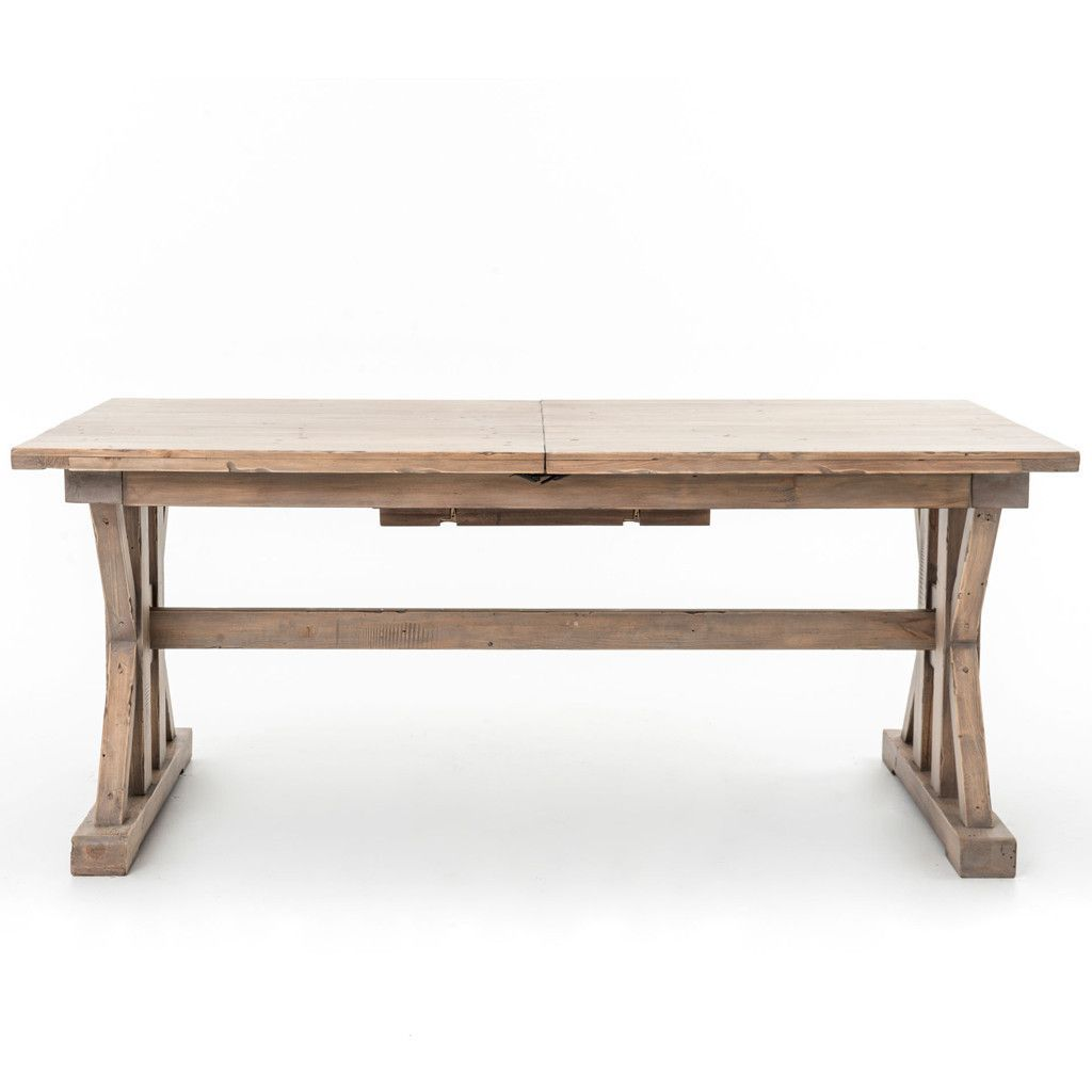 Metra extension dining table crate and barrel - Tuscan Spring Extension Dining Table
