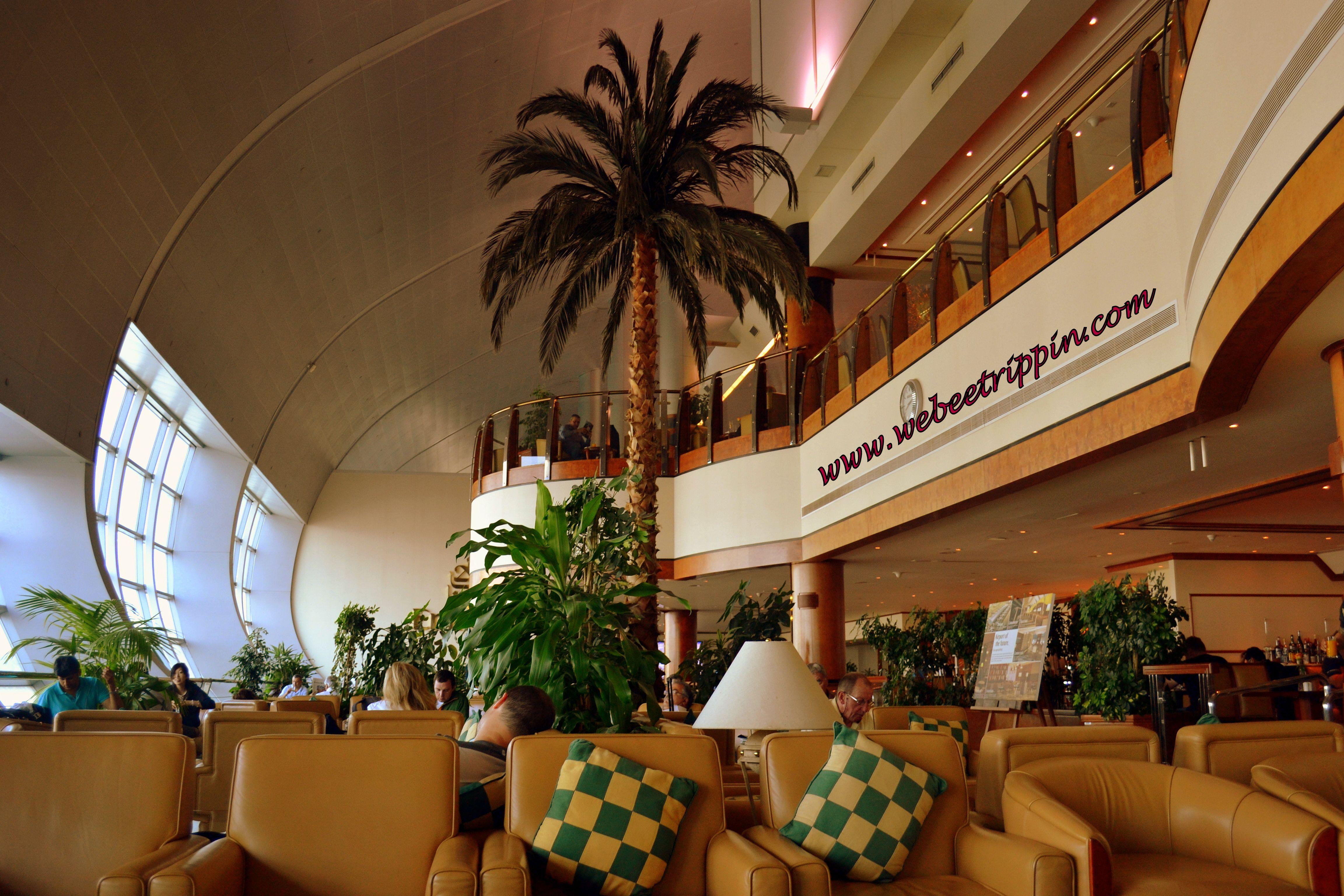 Dubai Airport - Emirates Airlines VIP lounge | United Arab ...