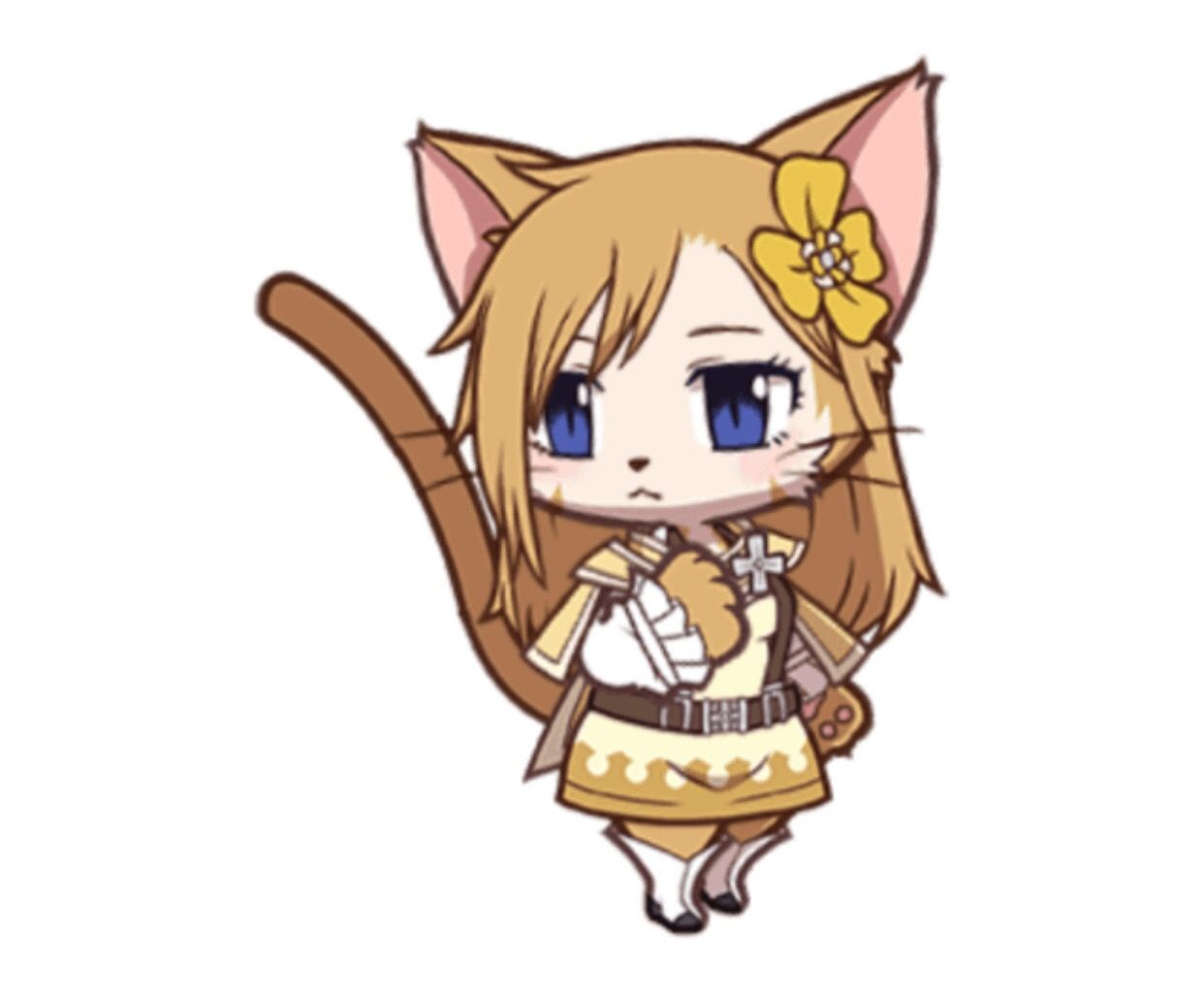 Fairy Tail Dragon Cry X Cat Busters Collab Event Sonya Anime