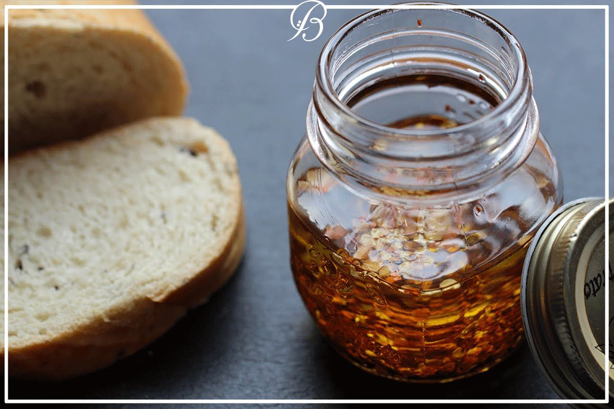 زيت زيتون حار | spices olive oil | #دقيقة_مع_آلاء - YouTube