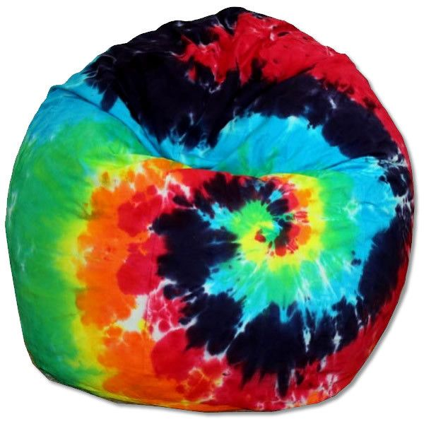 Tie Dye Bean Bag Chair Liked On