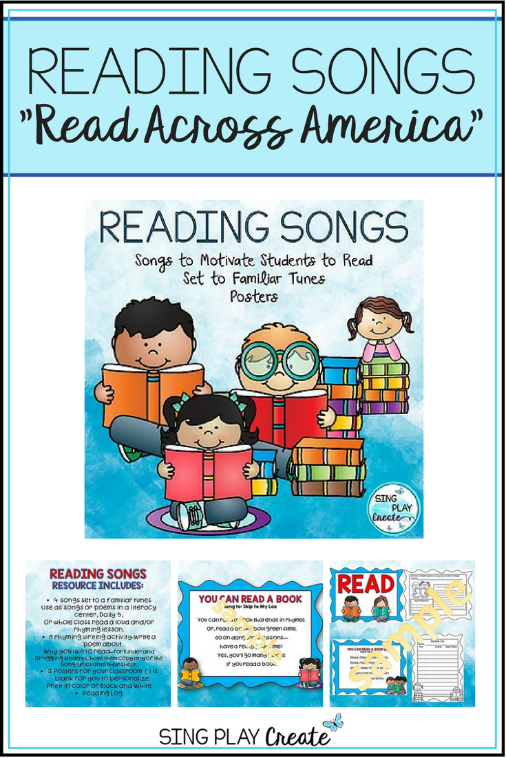 Reading Songs and Poems with Literacy Activities: \