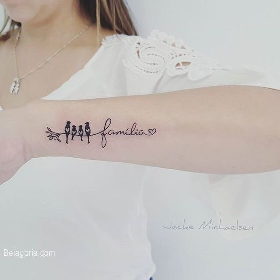95 Impresionantes Tatuajes De Familia Tatuajes Tatuaje Ohana