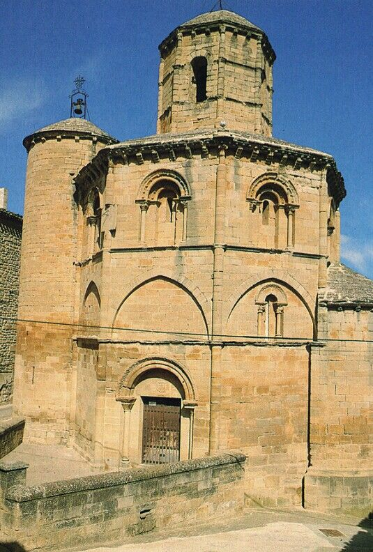 Iglesia Del Santo Sepulcro Torres Del Río Navarra Arte Románico Arte Romano Sepulcro Arte