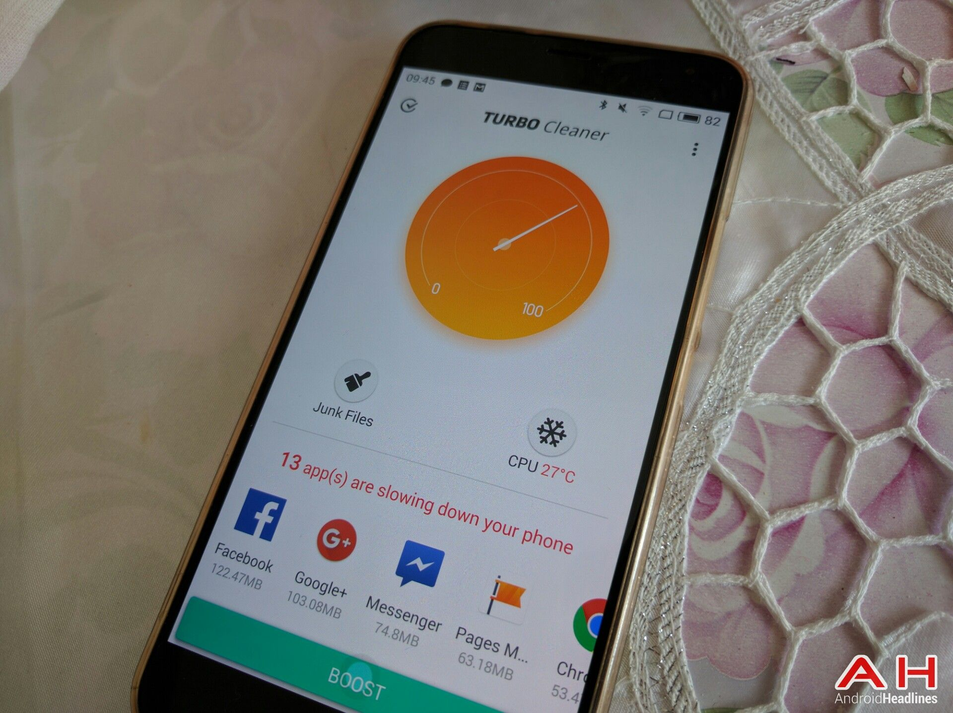 Turbo Cleaner App Will Help You Clean & Boost Your Device #Android #CES2016 #Google