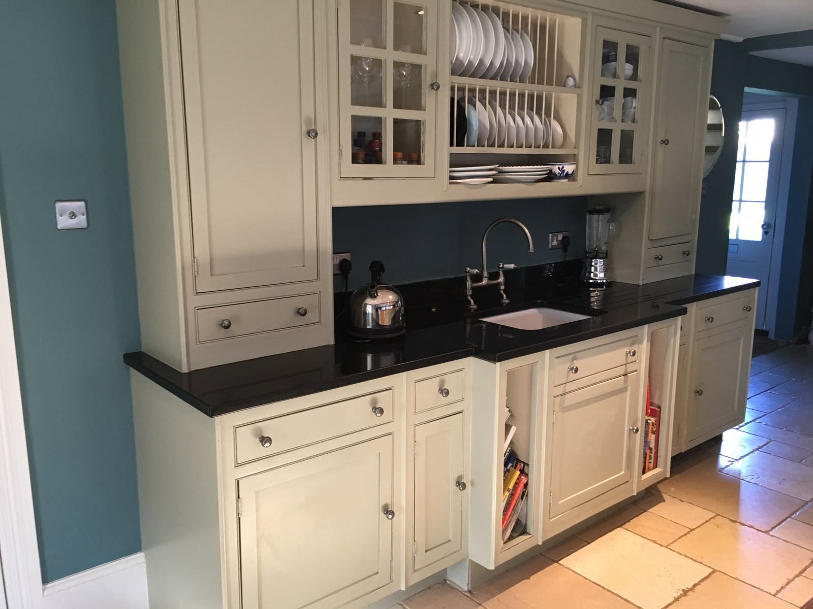 Shaker Style Kitchen Wall Run by Neptune