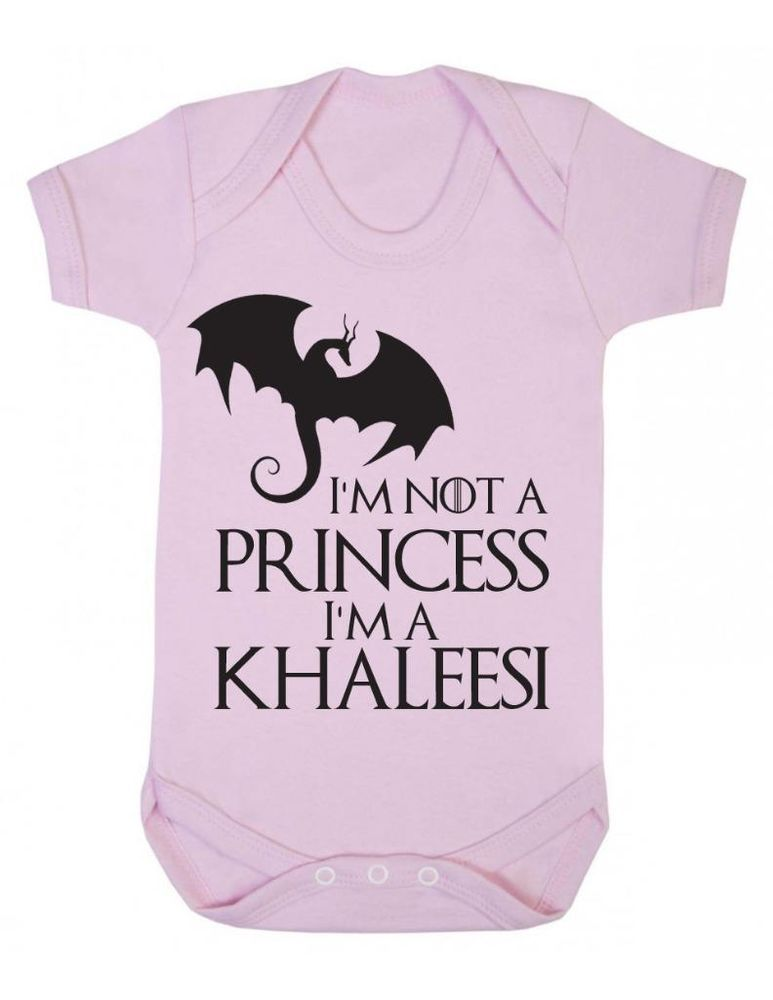 0785e3b2f3 Details about Im not a princess, I'm a Khaleesi - Game Of Thrones ...