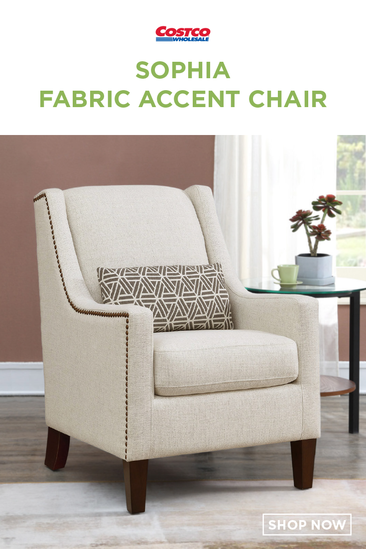 Sophia Fabric Accent Chair Fabric Accent Chair Accent Chairs