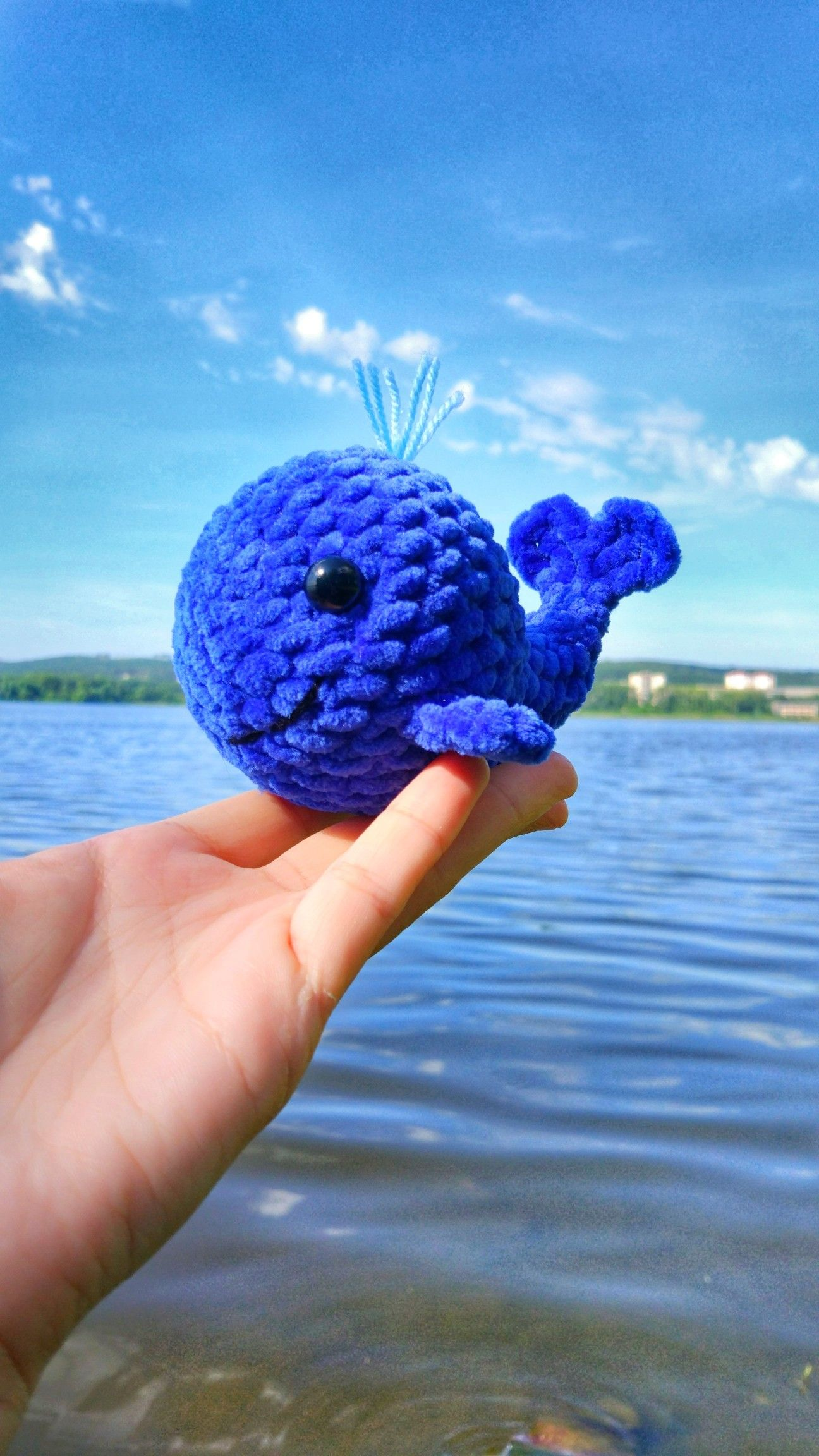 Whale Amigurumi Loops & Love Crochet | 2304x1296