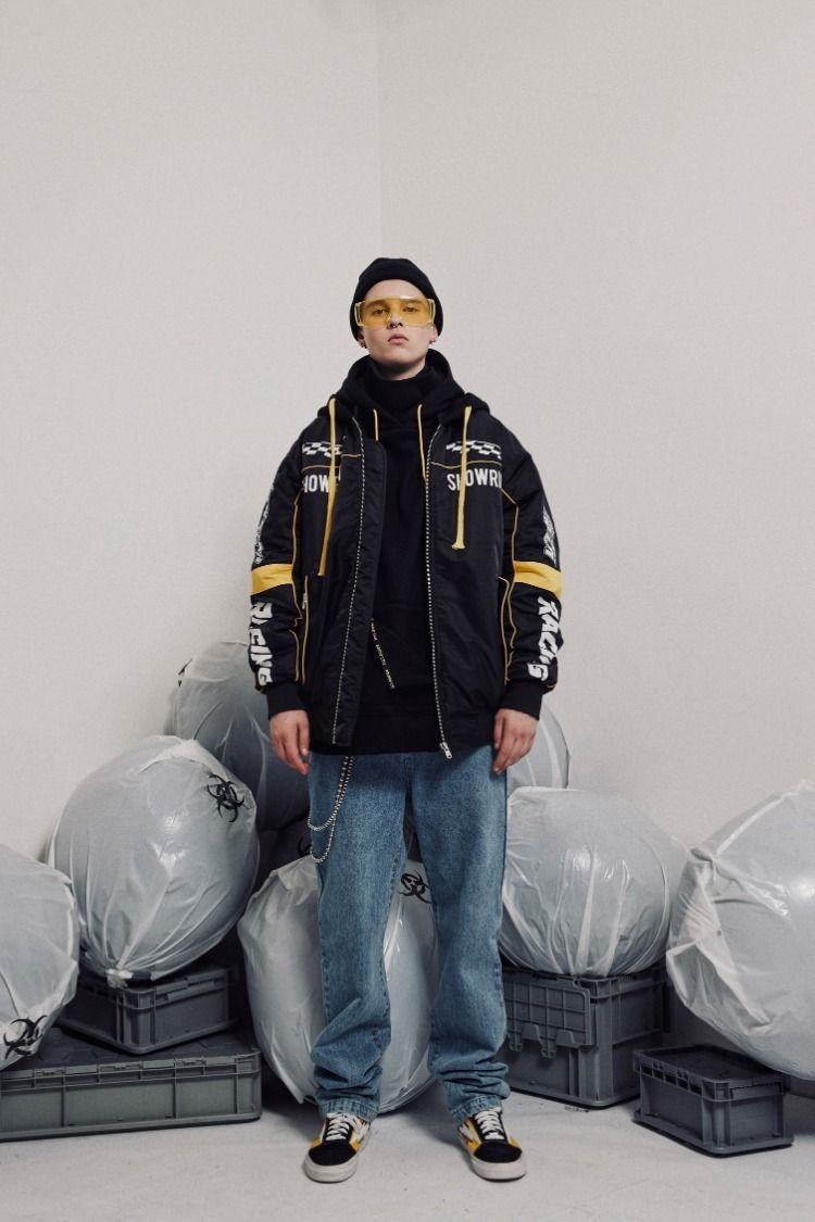Show Rich Racing Made By Abow Life Hoodie Bomber Jacket Bomber Jacket Hoodies Jackets [ 1125 x 750 Pixel ]