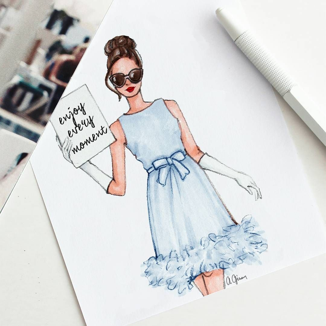 1 853 Begenme 17 Yorum Instagram 39 Da Style Of Brush Gizemkazancigil Quo Fashion Design Sketches Fashion Illustration Dresses Fashion Design Drawings