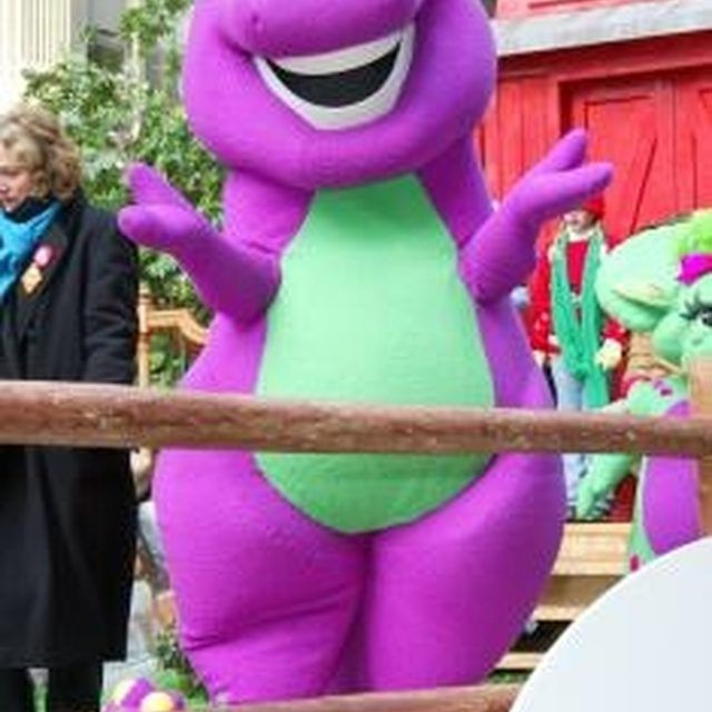 How to make your own barney decorations barney costume birthday birthdays save money with do it yourself solutioingenieria Gallery