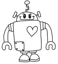 Rob The Robot Coloring Pages Craft Ideas Pinterest Coloring Coloring Books Robots Drawing Coloring Pages