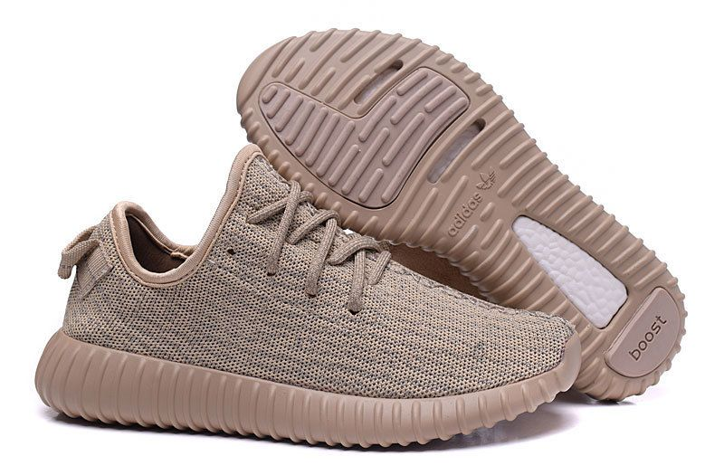 Brown · 2016 Adidas Yeezy Boost 350 Men Running Shoes ...
