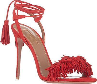 Sandals WILD THING with Fringes Spring/summerAquazzura RuNNtT5