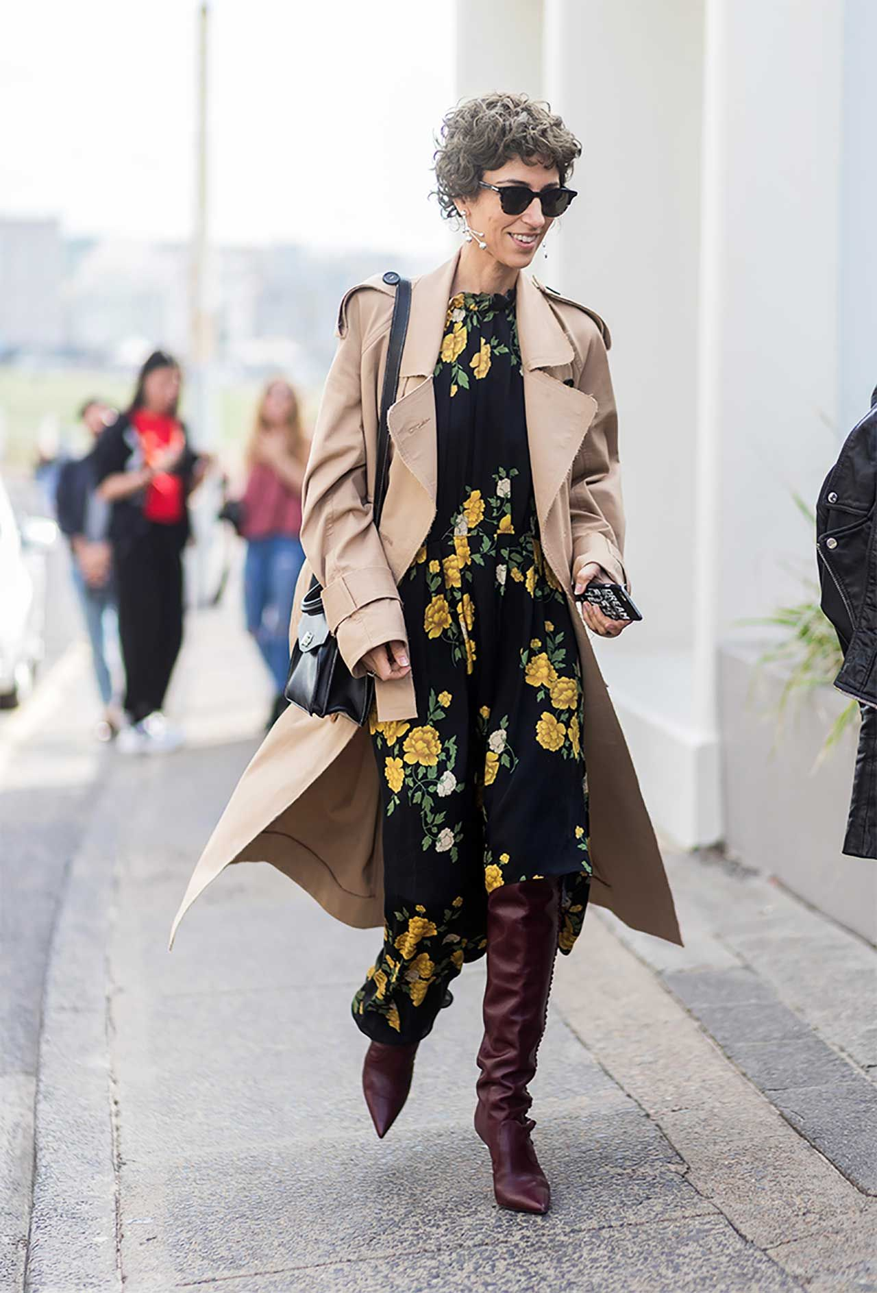 e19e6c391c2716 ... buy good 7cebb da91e how to wear midi dresses slouchy boots outfits  ideas yasmin sewell Trendy ...