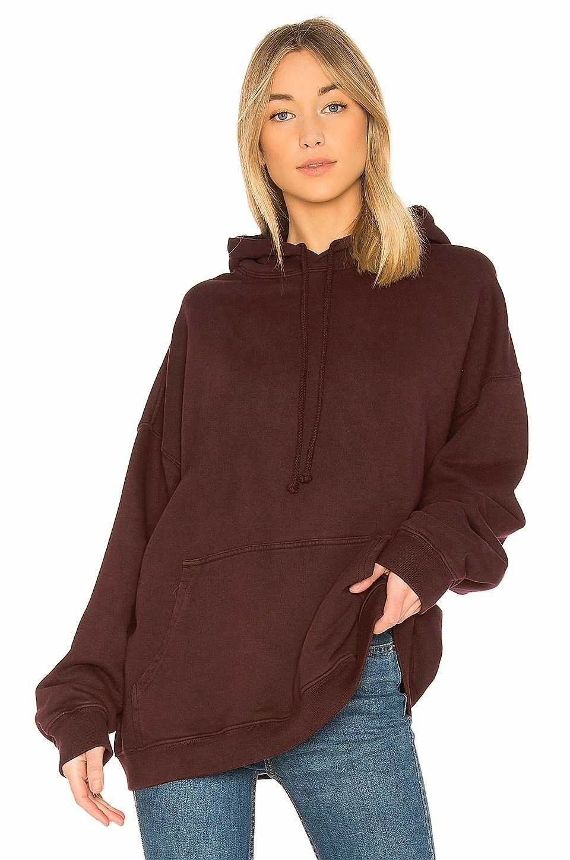 Oxblood Yeezy Season 5 Single Layer Hoodie Layered Hoodie Top Clothing Stores Hoodies [ 1450 x 960 Pixel ]