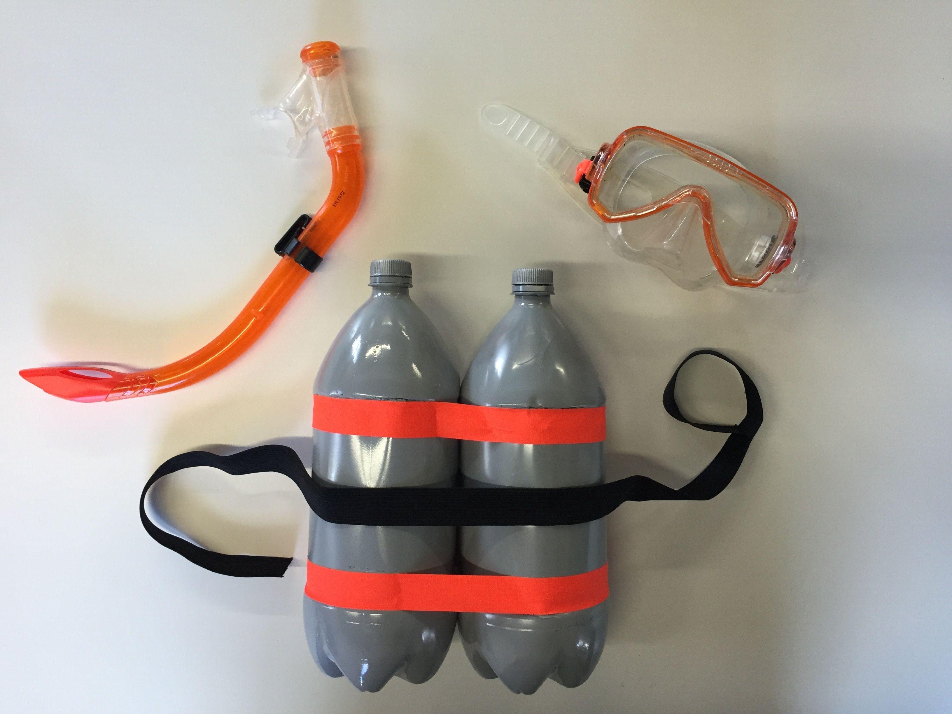 Costume de plongeur - 2L - 7up
