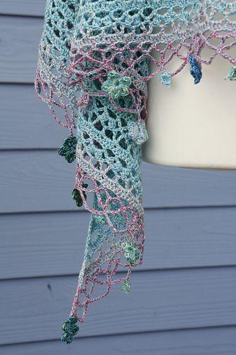 "Schal ""Jardin de Monet""… | My Style | Pinterest | Tuch häkeln ..."