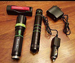 Futuresky 3-in-1 multi-funktionale taktische Taschenlampe Messer - Survival Ausrüstung Kit-Messer mit Wiederaufladbare Einstellbare Maglite Led Taschenlampe für Fahrzeug Jagd Outdoor Camping: Amazon.de: Sport & Freizeit