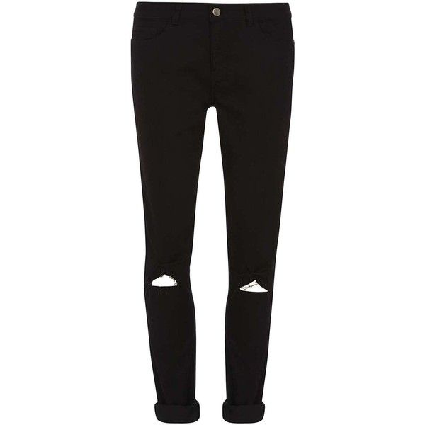 551c4783647a Dorothy Perkins **Tall Black 'Bailey' Ripped Super Skinny Jeans ($21 ...
