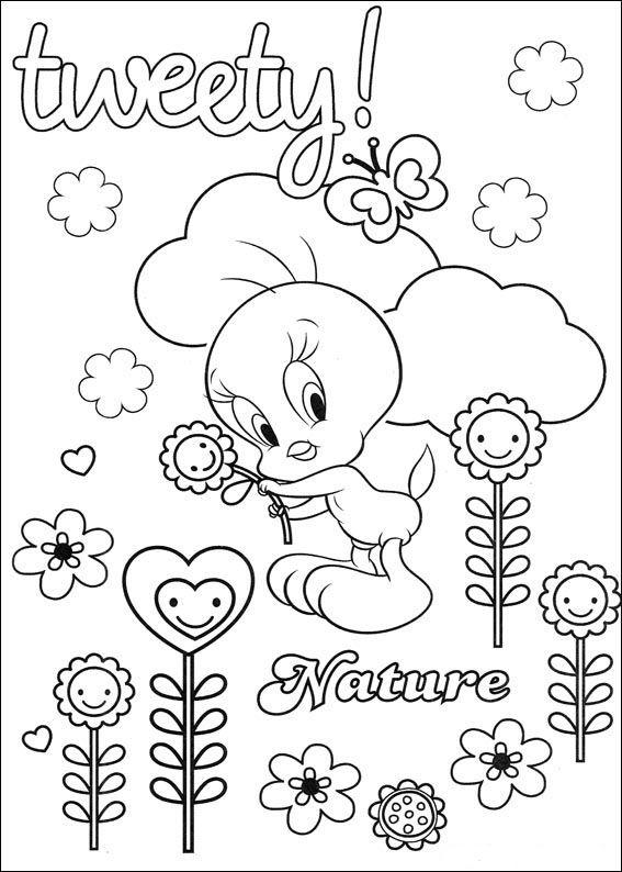 Dibujos para Colorear Silvestre y Piolin 31   Dibujos para colorear ...